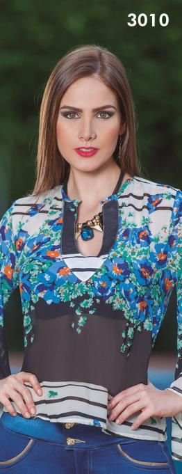 Blusa Estampada Colombiana