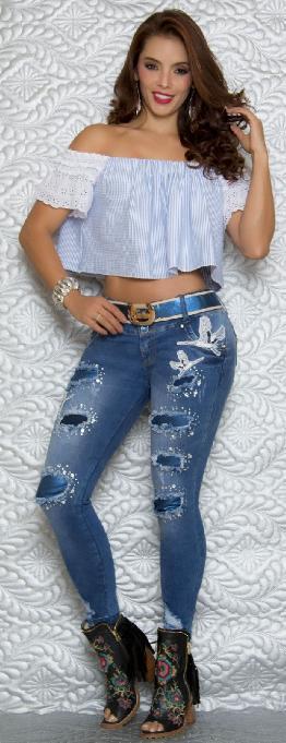 Jeans Dama Sexy