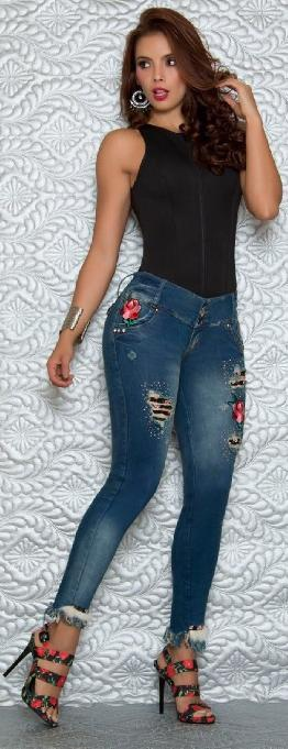 Pantalon Colombiano de Moda