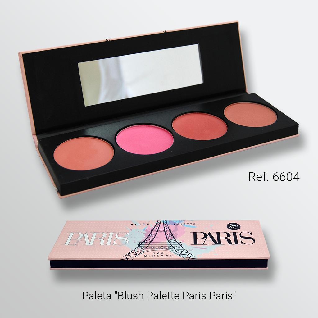 Paleta Blush Palette Paris Paris