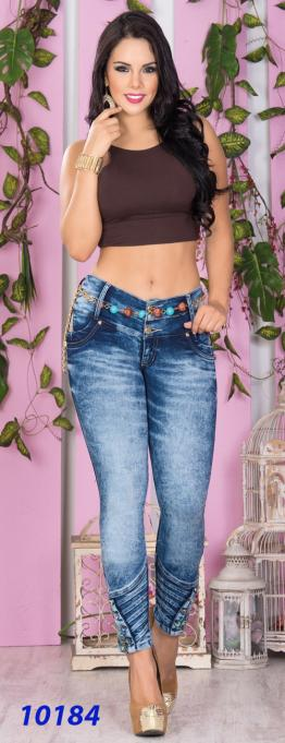 JEANS DAMA CHEVIOTTO.